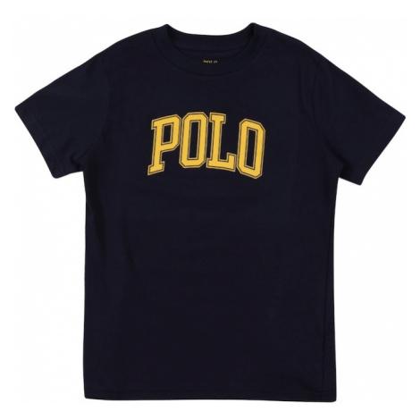 Polo Ralph Lauren Tričko námořnická modř / žlutá