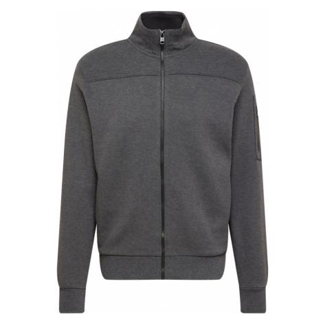 Calvin Klein Mikina s kapucí tmavě šedá