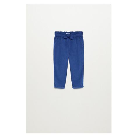 Mango Kids - Dětské kalhoty PLIN