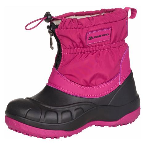 Dětská zimní obuv Alpine Pro SAVIO - fialová