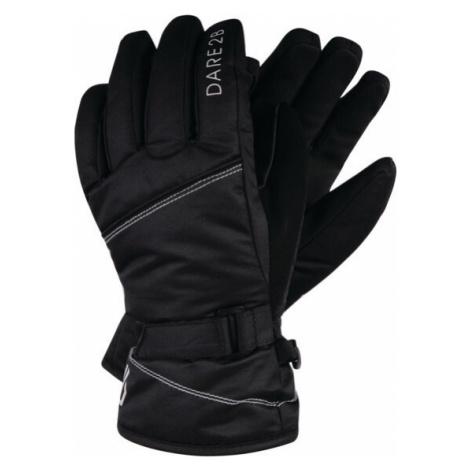 Dětské lyžařské rukavice DGG314 DARE2B Impish Černé Černá 8-10 let