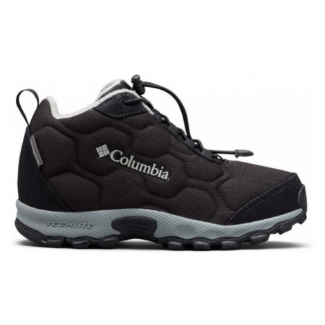 Columbia CHILDRENS FIRECAMP MID 2 WP černá - Dětské trekingové boty