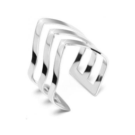 Troli Elegantní trojitý prsten z oceli