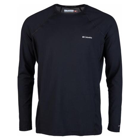 Funkční triko Columbia Midweight Stretch Long Sleeve Top - černá S