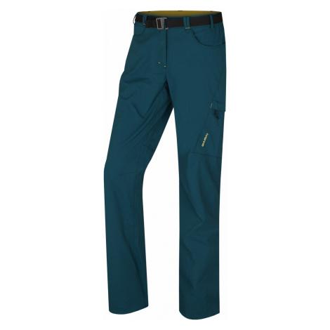 Husky Kahula L, tm. tlumená tyrkysová Dámské outdoor kalhoty