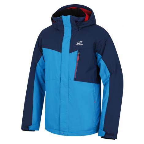 HANNAH Juval Pánská lyžařská bunda 217HH0007HJ03 Methyl blue/dark denim