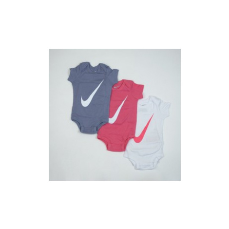 Swoosh s/s bodysuit 3pk Nike