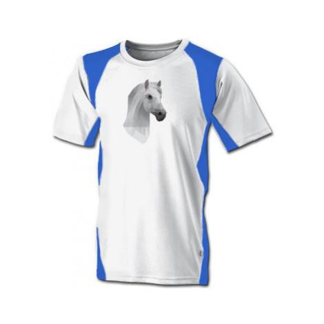 Funkční tričko pánské Kůň z polygonů