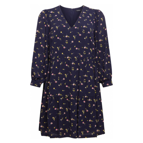 Lauren Ralph Lauren Šaty mix barev / námořnická modř