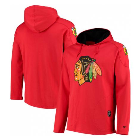 Pánská mikina s kapucí Fanatics Iconic Franchise Overhead NHL Chicago Blackhawks
