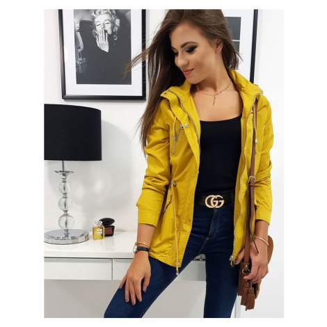 Žlutá dámská přechodová bunda GRADO ty0737 BASIC