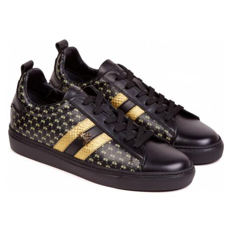 Tenisky La Martina Woman Shoes Calf Leather - Černá