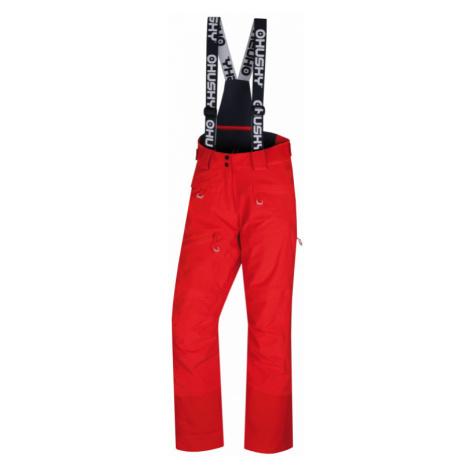Dámské lyžařské kalhoty HUSKY Gilep výrazně červená