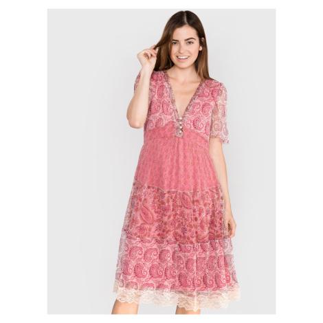 Šaty TWINSET Růžová