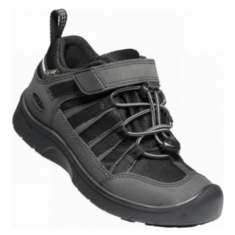 KEEN HIKEPORT 2 LOW WP Y Dětská celoroční obuv 10008011KEN01 black/black