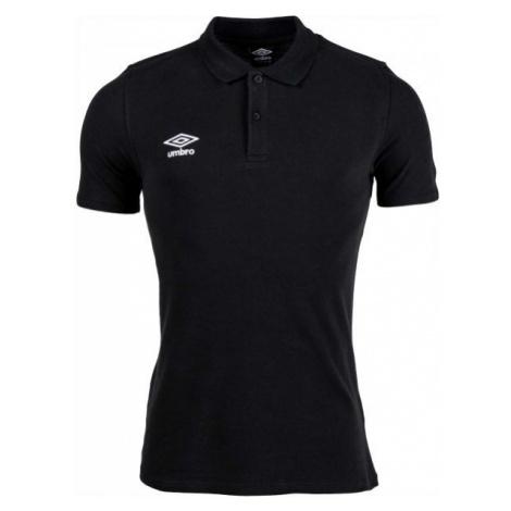 Umbro FW PIQUE POLO černá - Pánské polo triko