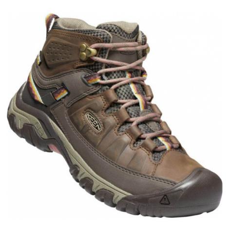 KEEN TARGHEE III MID WP W Dámská vysoká treková obuv 10008049KEN01 bungee cord/redwood