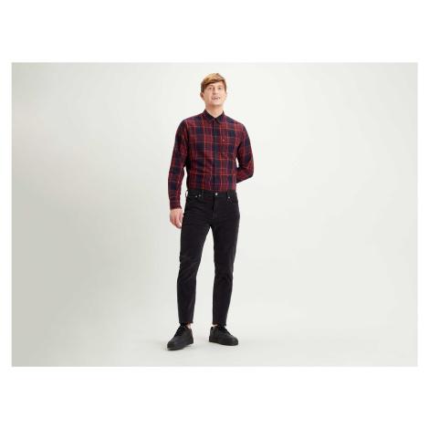Manšestrové kalhoty Levi´s® 511 Slim Mineral Black pánské černé