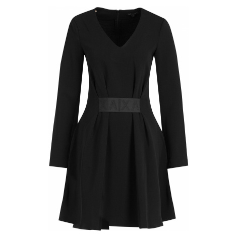 Černé šaty - ARMANI EXCHANGE