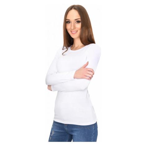 Bílé tričko s dlouhým rukávem Oxyd