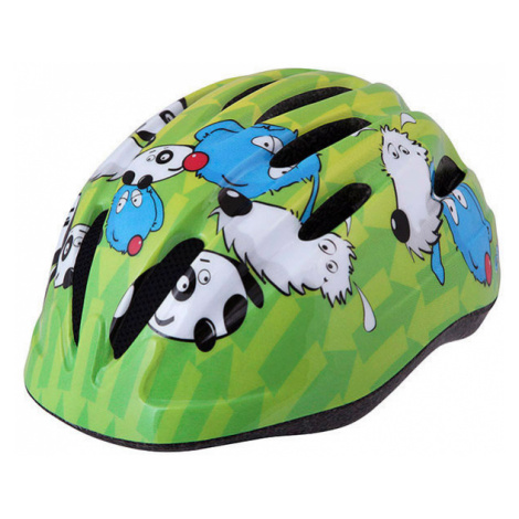 Dětská cyklistická helma Etape KIKI zelená