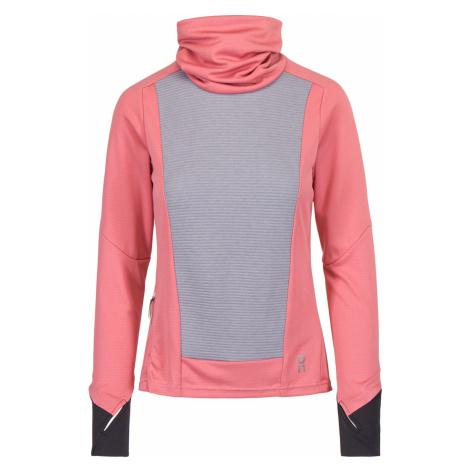 Tričko On Running WEATHER SHIRT růžová|šedá