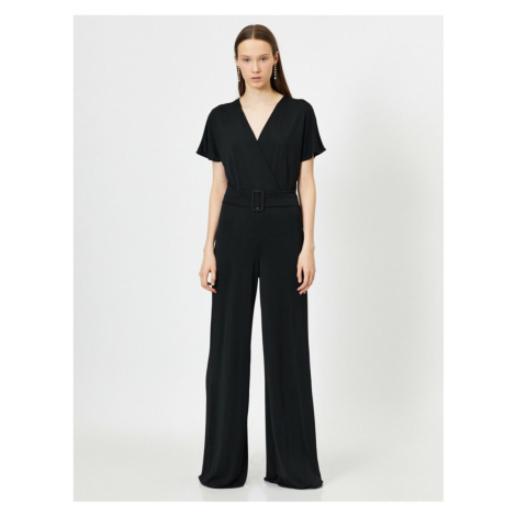 Koton Belt Detail Jumpsuit