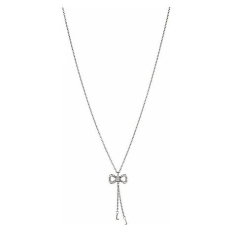 Liu.Jo Ocelový náhrdelník s mašličkou LJ1287