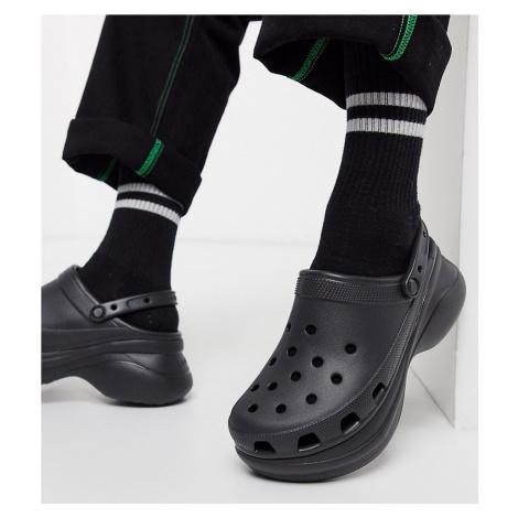 Crocs bae platform clogs in black exclusive to asos