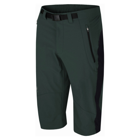 HANNAH GELLERT Pánské softshellové 3/4 kalhoty 10001672HHX01 green gables/anthracite