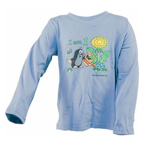 tričko chlapecké KRTEK Iam, Pidilidi, 2001-03-05-07-09-11, modrá