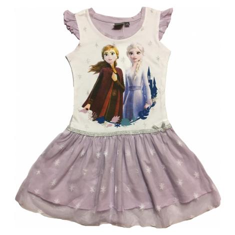 Dívčí šaty - SETINO Frozen G-19