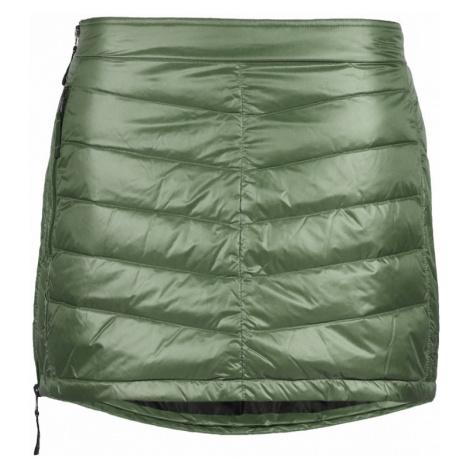 Péřová zimní sukně SKHOOP Mini Down green tea