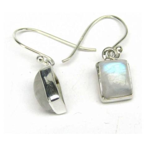 AutorskeSperky.com - Stříbrné naušnice s měsíčními kameny - S5448