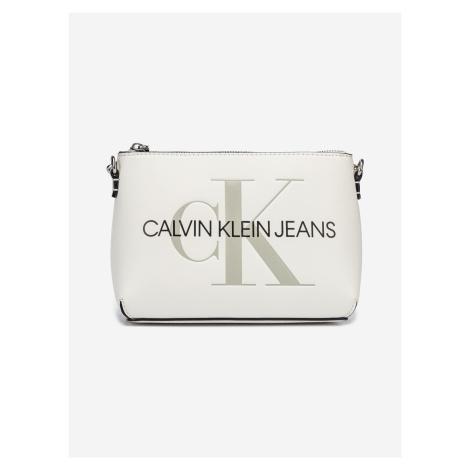 Camera Pouch Cross body bag Calvin Klein Bílá