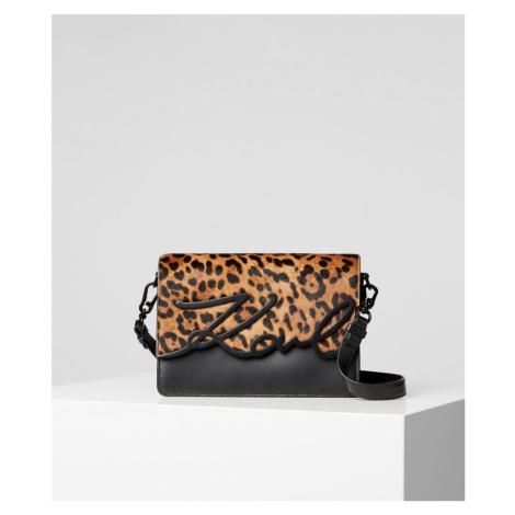 Kabelka Karl Lagerfeld K/Signature Leopard Shlderbag