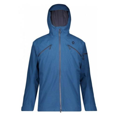 Scott ULTIMATE GTX 3 IN 1 JACKET tmavě modrá - Pánská lyžařská bunda
