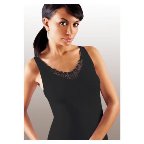 Dámská košilka Emili Ailin plus černá   černá