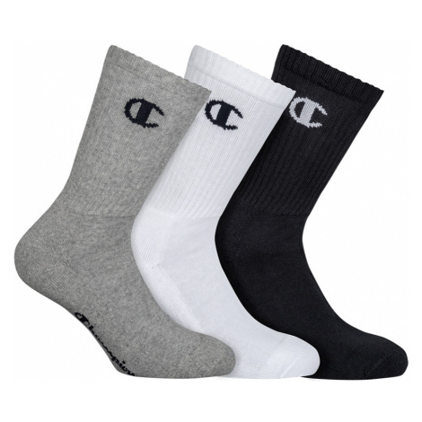 Ponožky UNISEX Champion 8QG 3PACK MIX | vzorované