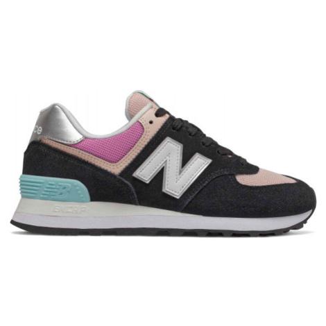 New Balance WL574SOS černá - Dámská volnočasová obuv