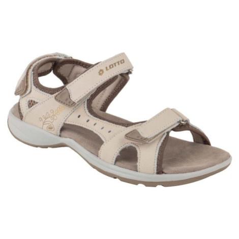 Lotto MARIKA béžová - Dámské sandály