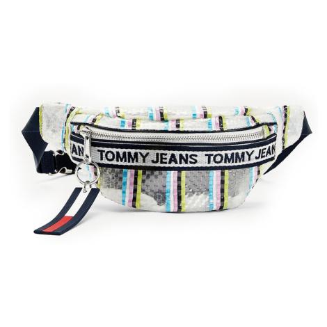 Tommy Hilfiger stylová ledvinka Mini Logo Bumbag Weave