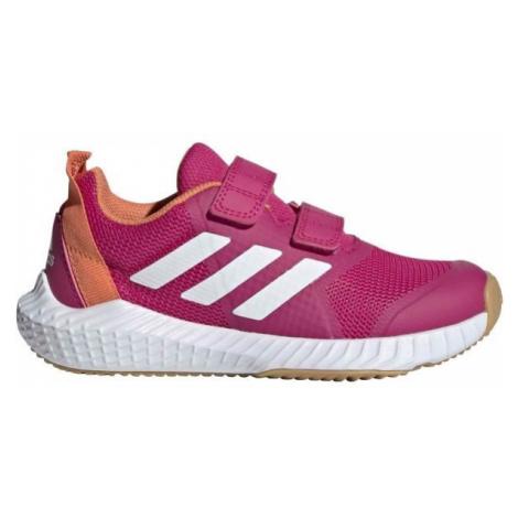 adidas FORTAGYM CF K růžová - Dětská sálová obuv
