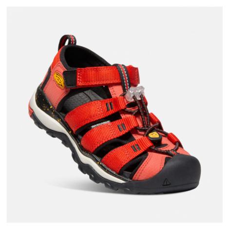 Dětské sandály Keen Newport NEO H2 JR fiery red/golden rod