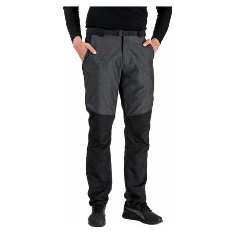 Šedo-černé pánské kalhoty SAM 73