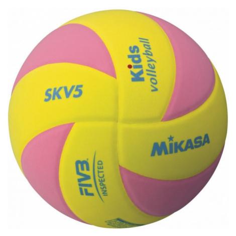 Mikasa SKV5 žlutá - Dětský volejbalový míč