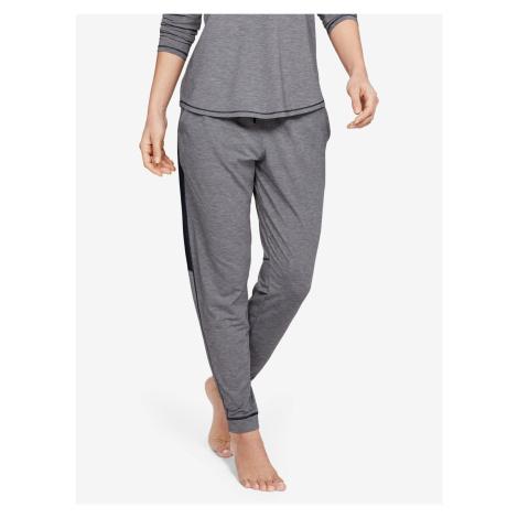 Tepláky Under Armour Recovery Sleepwear Jogger-Blk Šedá