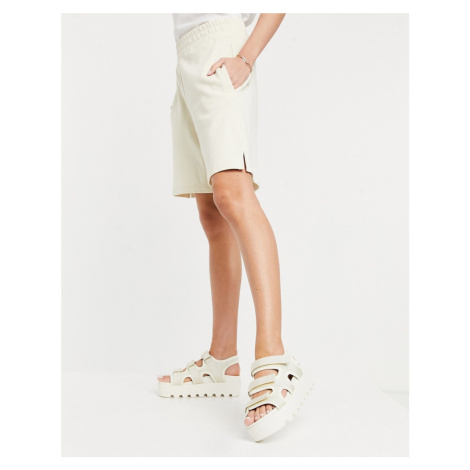 Koi Footwear Redin vegan sporty chunky sandals in stone-Neutral