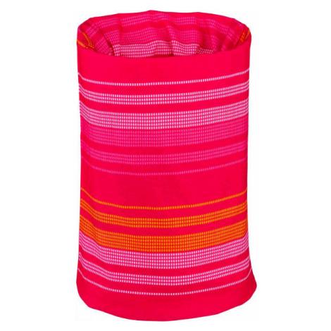 Lewro DAXIS růžová - Dětský multifunkční šátek