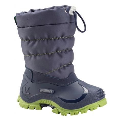 Dětská zimní obuv McKinley Jules - modrá
